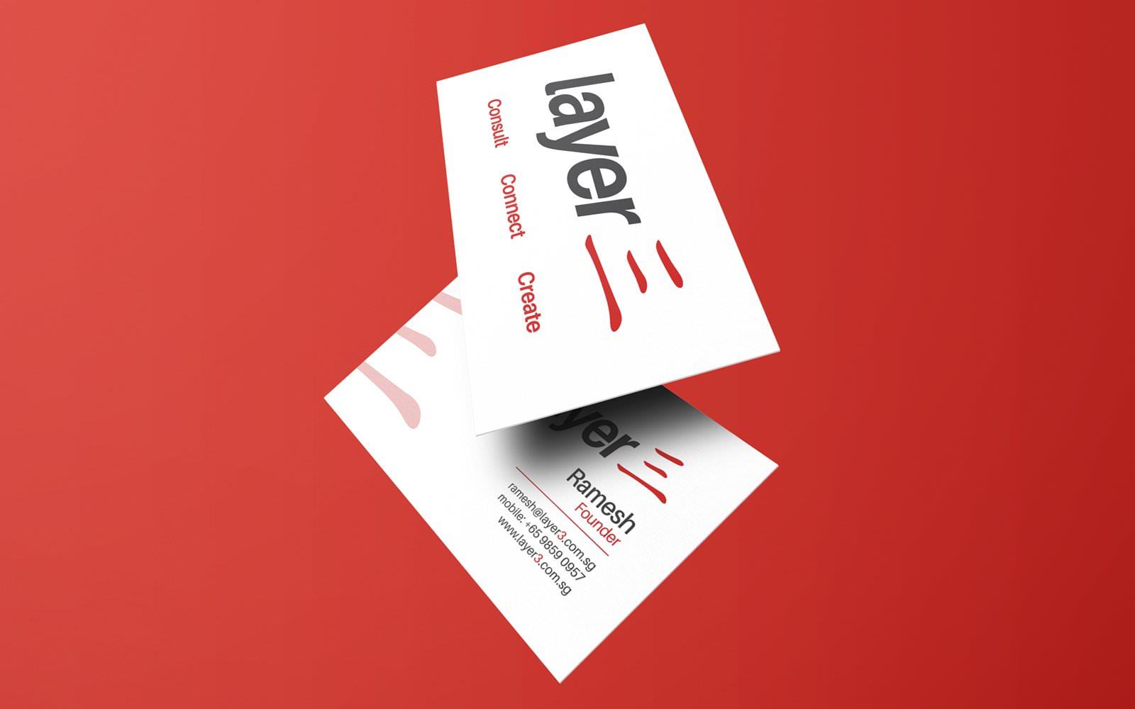 layer3 name card design